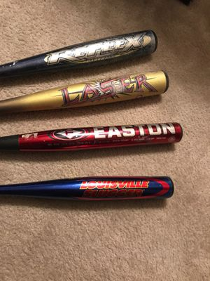 Baseball and softball bats for sale for Sale in Silver Spring, MD