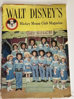 Disney Mickey Mouse Club 1956 for Sale in Salem,  OR