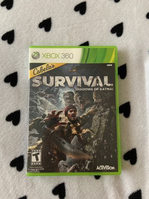 Cabela's Survival: Shadows of Katmai | Xbox 360 Game for Sale in Baldwin Park, CA