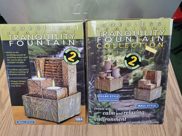 2 brand new tranquility fountains