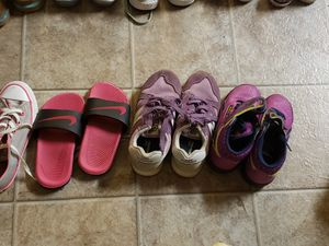 Sizes size 13 to size 1 worn couple times uggs, Jordan, new balance, polo shoes, converse, hurricahs, Nike slides Reebok, Adidas , regular sandals for Sale in Suffolk, VA