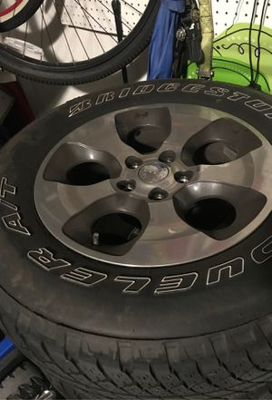 Jeep wheels and tires for Sale in Gibsonton, FL