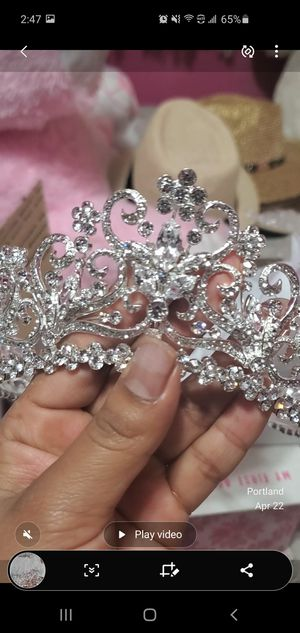 Tiara Crown headband elegant for Sale in Portland, OR