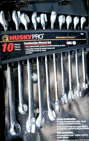 Husky PRO 10 Piece Combination Wrench Set (BRAND NEW) for Sale in Fairfax, VA