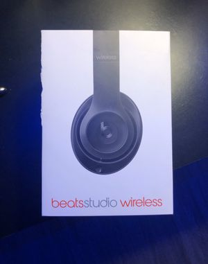 Beats Studio3 Wireless (Matte Black) for Sale in Largo, FL