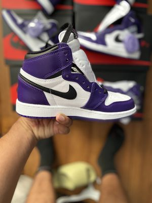 Jordan 1 Court Purple size 9,9.5,10,&10.5 for Sale in Los Angeles, CA