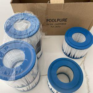 Coleman Bestway Spa Filter Pump Replacement Cartridge SaluSpa Hot Tub - 6 Pack. for Sale in Fort Lauderdale, FL