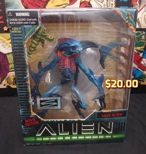 Kenner 1997 Signature Series Alien Resurrection Aqua Alien Action Figure NIB for Sale in Oakland, CA