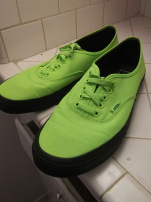 Neon Green Vans size 11 for Sale in Houston, TX