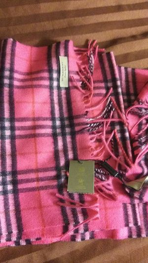 Burberry cashmere scarf new authentic for Sale in Las Vegas, NV
