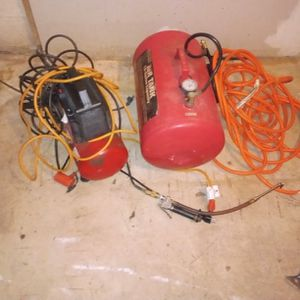 Air Compressor And Airtank for Sale in Bowie, MD