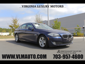 2012 BMW 5 Series for Sale in Chantilly, VA