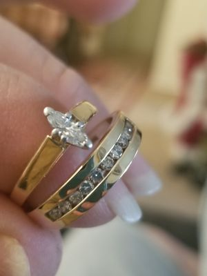 Anillos de oro y diamantes de matrimonio for Sale in Fairfax, VA