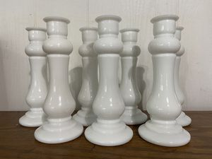 Set of 7 Vintage brody milk glass bud vases for Sale in Cashmere, WA