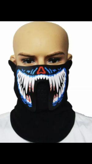 LED Halloween masks! Good for Dj / mascara LED para Dj for Sale in Los Angeles, CA