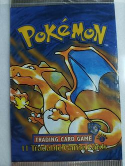 Pokémon 1st Edition Base Set Booster Pack 1999 for Sale in Miami,  FL