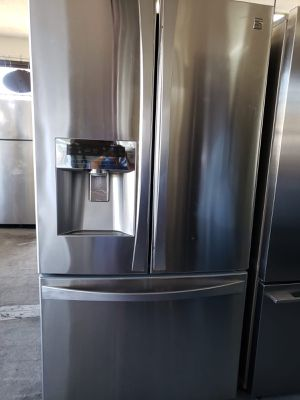 FREE DELIVERY! Kenmore Refrigerator Fridge French Door 3-Door Free Delivery #935 for Sale in Chino, CA