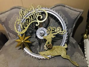 $55 Christmas custom chrome/gold rim for Sale in Baton Rouge, LA