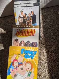 Family Guy And Seinfeld DVDs For Sale for Sale in Sacramento,  CA