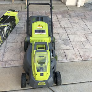 40-Volt Brushless Cordless Electric Lawn Mower + Battery + Charger! for Sale in Orange, CA