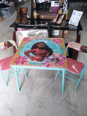 Kids table with chairs for Sale in Cumming, GA