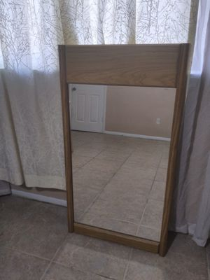 """Mirror 48"""" x 26"""" with wooden frame. for Sale in Orlando, FL"""