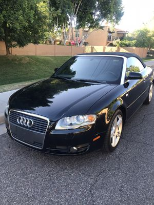 LUXURY CONVERTIBLE 2007 AUDI A4 TURBO CHARGED LOW MILES GREAT PERFORMANCE for Sale in Phoenix, AZ