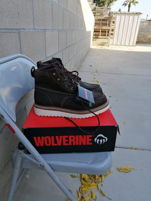 Brand new wolverine soft toe work boots size 11.5 for Sale in Riverside, CA