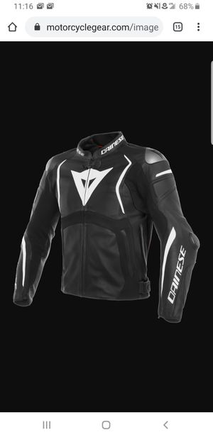 Dainese Mugello leather jacket size US46/EU56 for Sale in Bartlett, IL