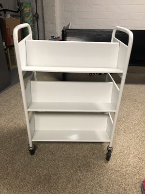 Vintage Library Cart on Casters for Sale in Rocky River, OH