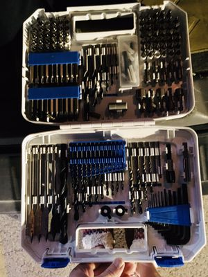 HART Drill bit set. Chrome plated. Brand new for Sale in Salt Lake City, UT