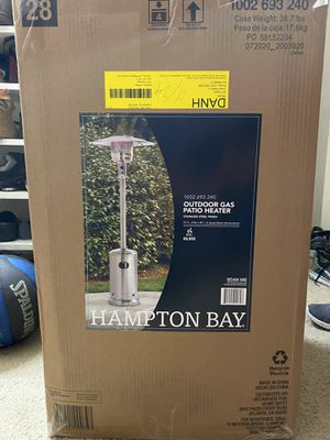 HAMPTON BAY Stainless Steel Patio Heater for Sale in Silver Spring, MD