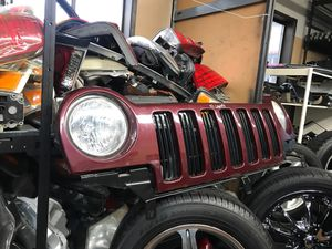 2002 Jeep Liberty Grill grille with headlights for Sale in Portland, OR