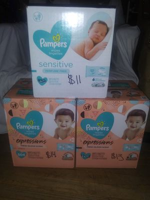 Pampers Wipes for Sale in San Gabriel, CA