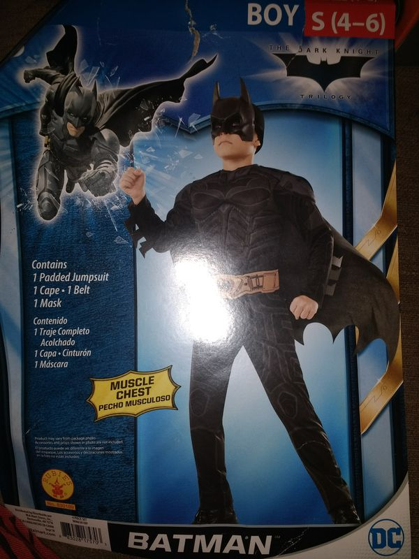 Batman Halloween costume (4-6) year old