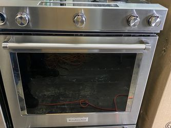 "Kitchen Aid 30"" stove Oven Stainless Steel for Sale in Compton,  CA"