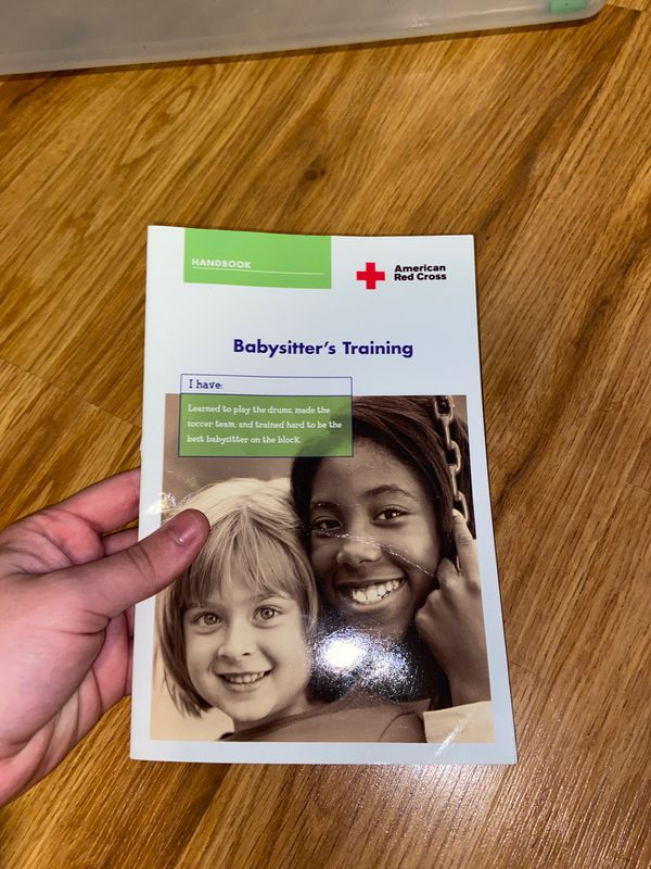 American Red Cross Babysitter's Training Booklet