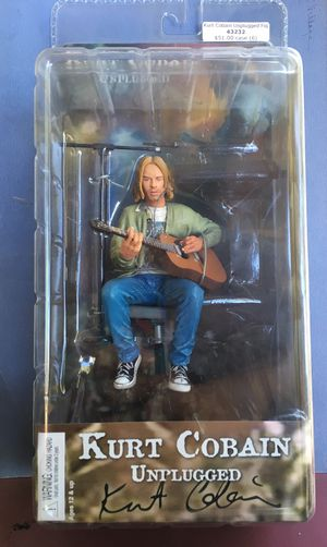 Kurt Cobain Nirvana - Unplugged Action Figure. for Sale in Los Angeles, CA