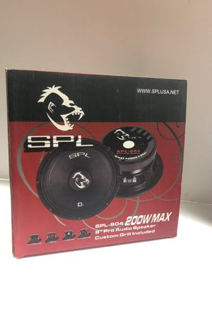 "SPL 8"" Pro Audio Speaker 200Watts Max for Sale in Pico Rivera, CA"