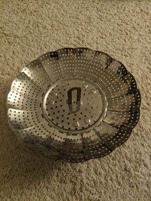 Stainless Steel Steamer Basket for Sale in Adelphi, MD