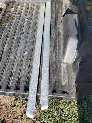 Free aluminum rail guads for gmc sierra truck for Sale in Gilroy, CA