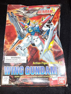 Gundam wing model toy Collectable for Sale in Alexandria, VA