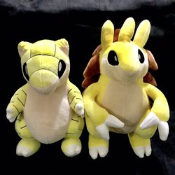 Pokémon Sandshrew or sandslash 12 inches tall (40$ each )(Only 1 Left !) for Sale in East Los Angeles,  CA