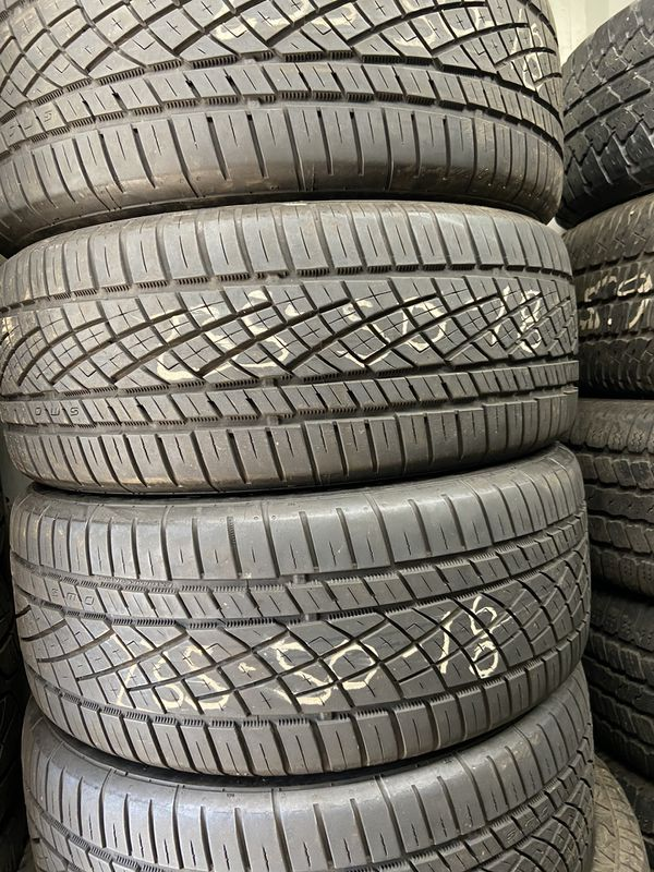X2 (235 50 18) continental tires. Used.