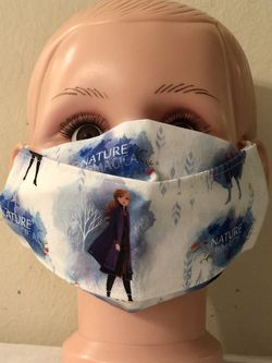 Disney Frozen Kid Size 3D Face Mask for Sale in San Jose,  CA