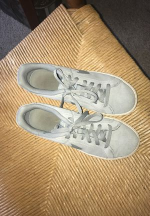 Nike suede walking shoes size 8.5 women's for Sale in Grandview Heights, OH