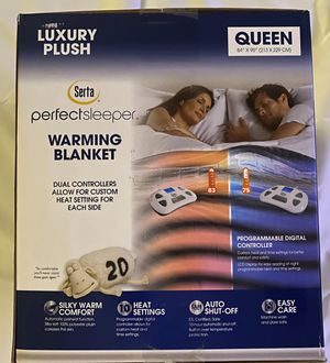 Electric Warming Blanket Serta PerfectSleeper for Sale in Cypress, TX