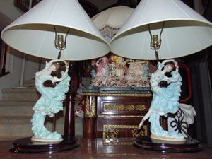 Two Victorian styled lamps for Sale in Las Vegas, NV