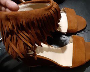 Fringe wedge heels for Sale in Tampa, FL