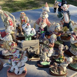 Ceramic Collectible Clowns for Sale in Riverside, CA
